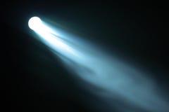 Indicatore luminoso in fumo fotografia stock