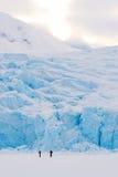 Indicatore luminoso glaciale Fotografia Stock Libera da Diritti