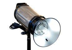 Indicatore luminoso istantaneo dello studio isolato Fotografie Stock Libere da Diritti