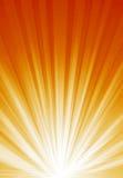 Indicatore luminoso luminoso arancione Immagini Stock Libere da Diritti