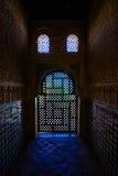 Indicatore luminoso meraviglioso all'interno del Torre de Cemares Immagini Stock Libere da Diritti