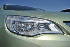 Indicatore luminoso moderno dell'automobile Fotografia Stock