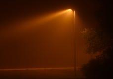 Indicatore luminoso nebbioso Fotografia Stock