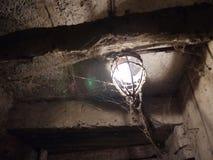 indicatore luminoso nel Dungeon Fotografia Stock