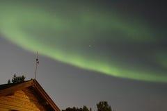 Indicatore luminoso nordico Fotografia Stock