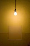Indicatore luminoso nudo Immagini Stock
