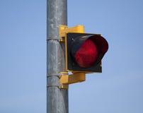Indicatore luminoso rosso di arresto Fotografia Stock