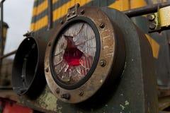 Indicatore luminoso rotto della coda Fotografia Stock Libera da Diritti