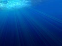 Indicatore luminoso subacqueo Fotografie Stock