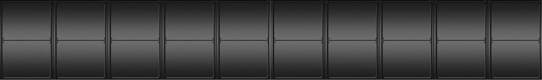 Indicatore mecanical in bianco della lettera Fotografia Stock