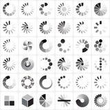 Indicatori del carico messi Fotografia Stock