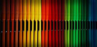 Indicatori del Rainbow Immagini Stock Libere da Diritti
