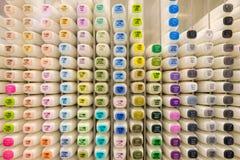 Indicatori di colore Fotografie Stock Libere da Diritti
