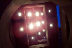 Indicatori luminosi Fotografie Stock Libere da Diritti
