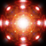 Indicatori luminosi Fotografia Stock