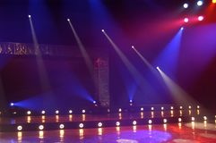 Indicatori luminosi Fotografie Stock