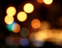 Indicatori luminosi al neon Fotografia Stock Libera da Diritti