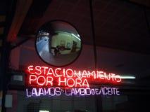 Indicatori luminosi al neon Immagine Stock Libera da Diritti