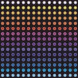 Indicatori luminosi al neon variopinti Fotografie Stock