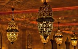 Indicatori luminosi arabi Fotografia Stock