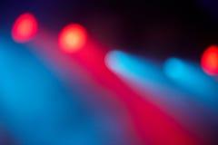 Indicatori luminosi astratti Fotografia Stock Libera da Diritti