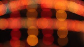 Indicatori luminosi astratti video d archivio