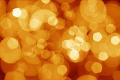 Indicatori luminosi astratti dei christmass Fotografie Stock