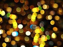 Indicatori luminosi astratti del oof Fotografie Stock Libere da Diritti