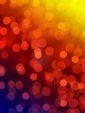 Indicatori luminosi astratti del Rainbow Fotografie Stock