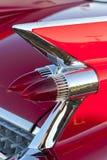 Indicatori luminosi classici della coda dell'automobile Fotografia Stock