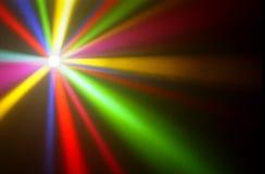 Indicatori luminosi colorati Immagini Stock