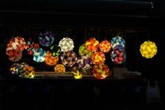 Indicatori luminosi colorati fotografia stock