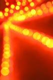 Indicatori luminosi d'ardore Defocused Immagini Stock Libere da Diritti