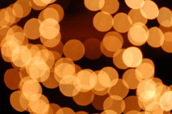 Indicatori luminosi Defocused Immagine Stock Libera da Diritti