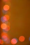 Indicatori luminosi defocused astratti Fotografia Stock Libera da Diritti