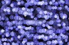Indicatori luminosi defocused brillanti fotografia stock