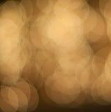 Indicatori luminosi defocused di Natale Immagine Stock