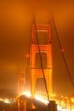 Indicatori luminosi del cancello dorato Fotografia Stock Libera da Diritti