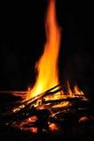 Indicatori luminosi del fuoco immagini stock libere da diritti