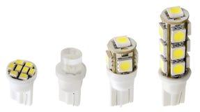 Indicatori luminosi del LED Immagini Stock Libere da Diritti
