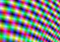 Indicatori luminosi del Rainbow Fotografia Stock