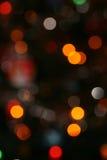 Indicatori luminosi dell'albero di Natale Fotografia Stock Libera da Diritti