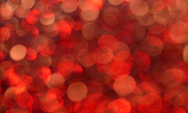 Indicatori luminosi dell'oro Fotografia Stock Libera da Diritti