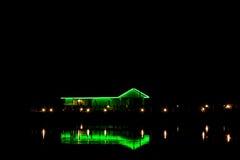 Indicatori luminosi della Camera sulla baia, Panama City, Florida Fotografie Stock Libere da Diritti