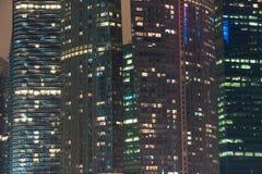 Indicatori luminosi della città immagini stock libere da diritti