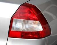 Indicatori luminosi della coda dell'automobile Fotografie Stock Libere da Diritti