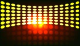 Indicatori luminosi della discoteca illustrazione di stock