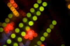 Indicatori luminosi della discoteca Fotografia Stock