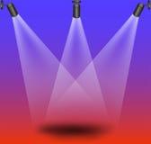 Indicatori luminosi della fase Fotografie Stock