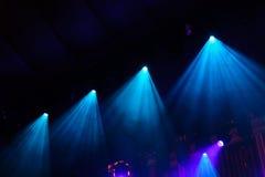 Indicatori luminosi della fase in philharmony Fotografie Stock
